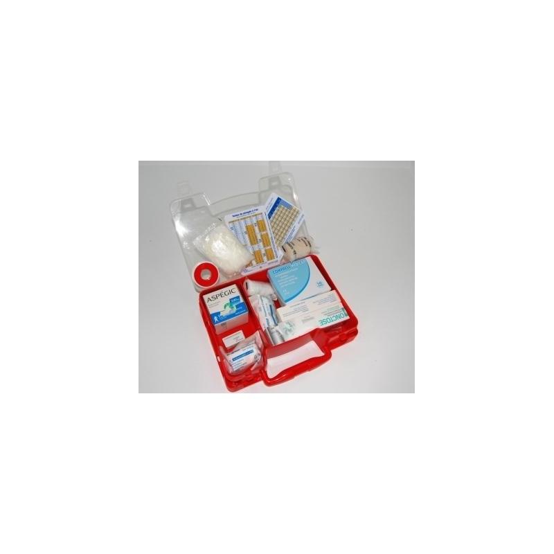 Trousse de secours avec table de plongée MN90