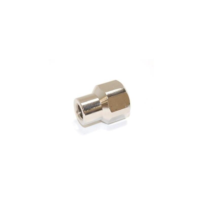 Adaptateur DIN 300 bar femelle - femelle 1/4 Gaz