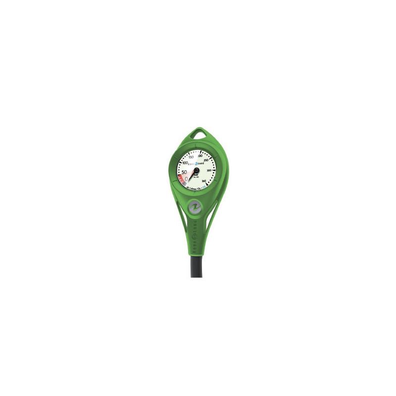 Manomètre immergeable Nitrox AL50 court 18 cm