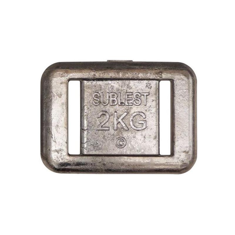 Plomb de Ceinture 2 kg Sublest