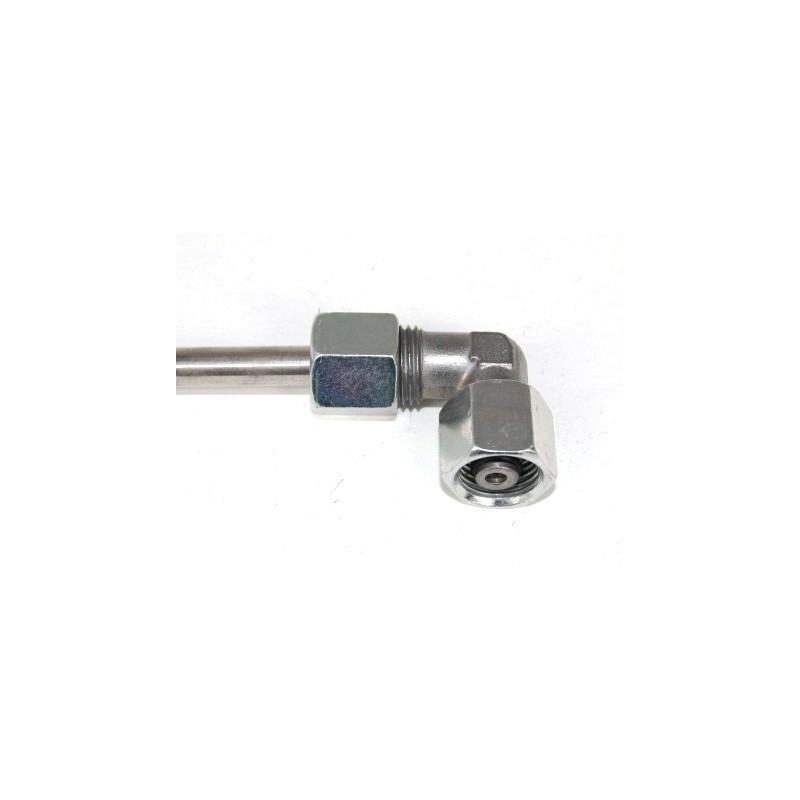 Coude orientable pour tube Ø 8