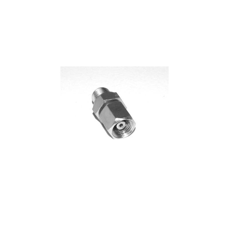 Union orientable pour tube Ø 6 mâle 1/4 BSPP Dégraissé